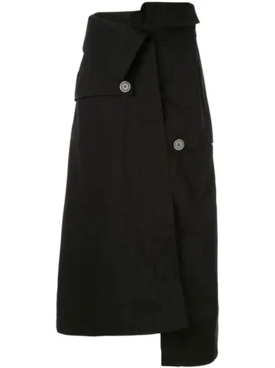 Endgame Trench A-Line Skirt