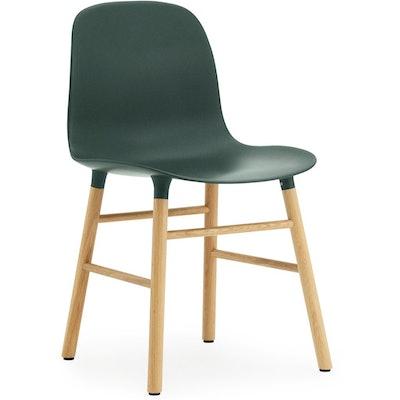 Normann Copenhagen Form Chair - Green/ Oak