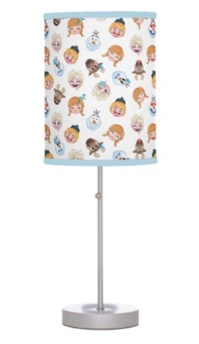 Frozen Emoji Pattern Table Lamp