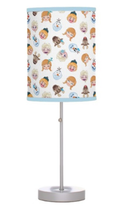 Frozen Emoji Pattern Table Lamp