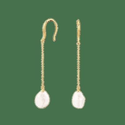 Organic Pearl Earrings