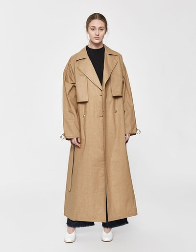 Caden Waterproof Trench