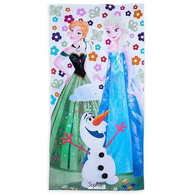 Frozen Beach Towel - Personalizable