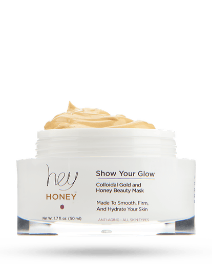 Show Your Glow Colloidal Gold and Honey Beauty Mask