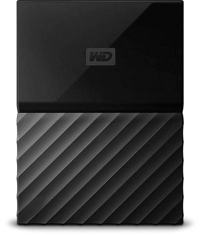 WD My Passport Portable External Hard Drive, 2 TB