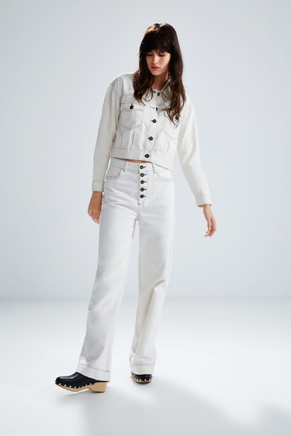 Pants With Contrasting Piping Details