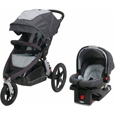 Graco Relay Click Connect Jogging Stroller Infant Travel System