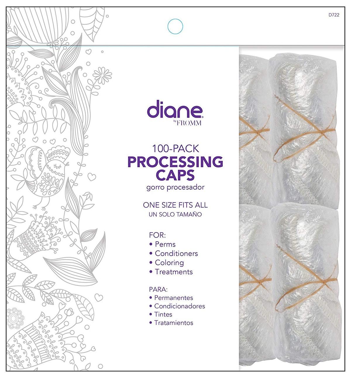 Diane Hair Processing Caps, 100 Pack