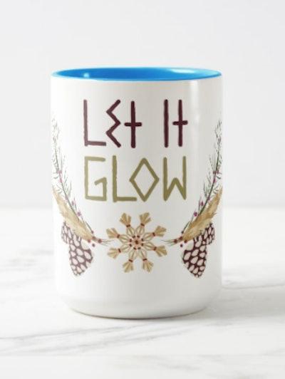 Frozen | Let it Glow Two-Tone Coffee Mug