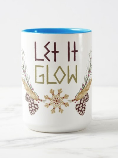 Frozen | Let it Glow Two-Tone Coffee Mug