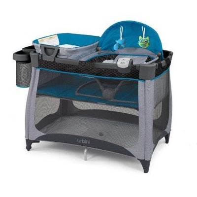 Urbini Nesti 4-in-1 Playard, Teal