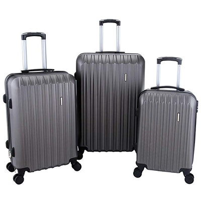 Murtisol 3 Pieces ABS Luggage Set