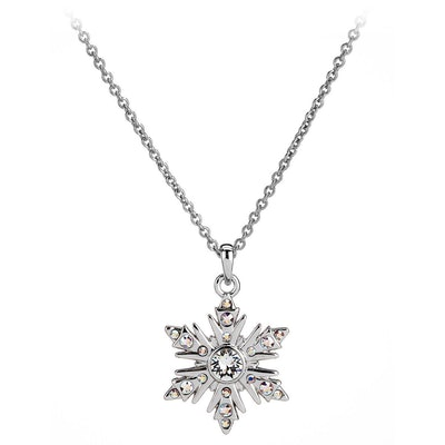 Frozen Snowflake Necklace by Arribas