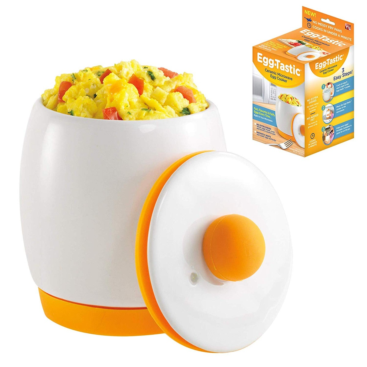 Egg-Tastic Ceramic Microwave Egg Cooker