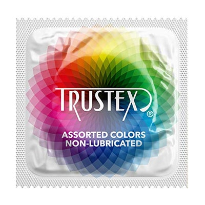 Trustex Assorted Colors (100-Pack)