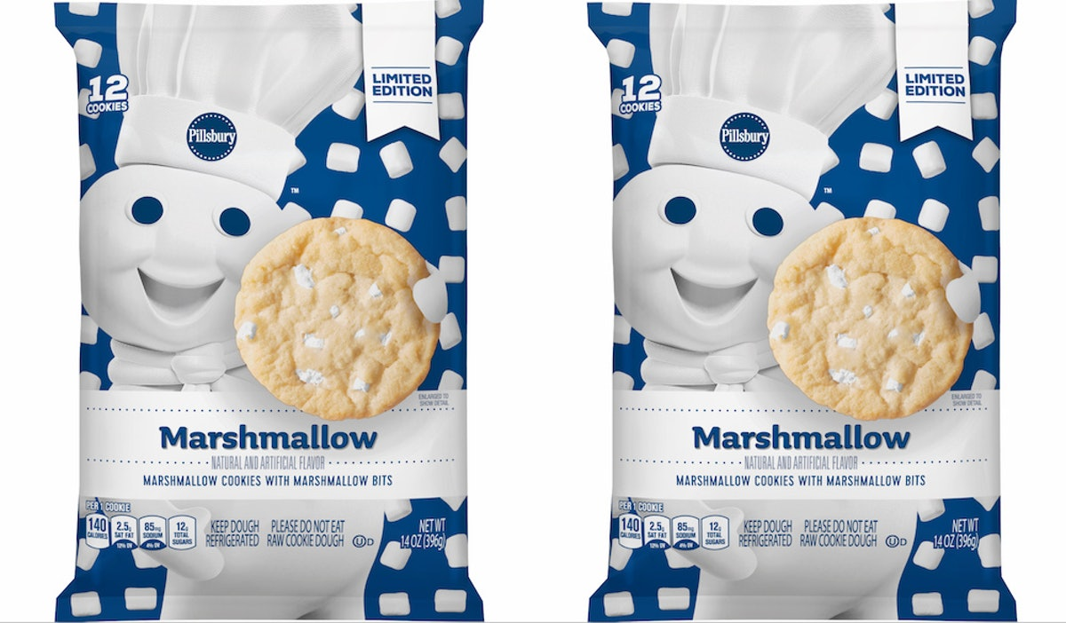 Pillsbury's Ready-To-Bake Marshmallow Sugar Cookies Will Upgrade Your Dessert Game