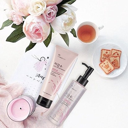 The Face Shop Rice Water Bright Cleansing Foam and Light Cleansing Oil