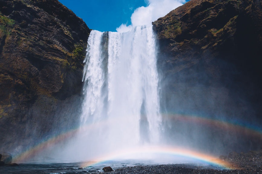 28 Instagram Captions For Iceland Falling In Love One Waterfall At