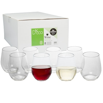 Unbreakable Wine Glasses  (Set of 8)