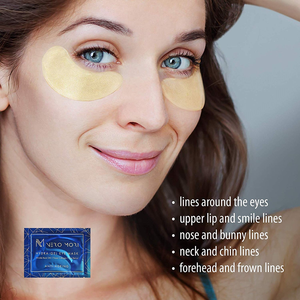 Nero Mori Eye Treatment Masks (12 Pairs)