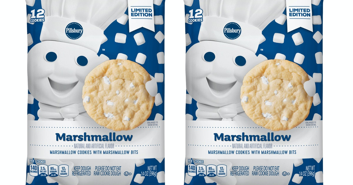 Pillsbury's Marshmallow Sugar Cookie Dough Is About To Hit ...