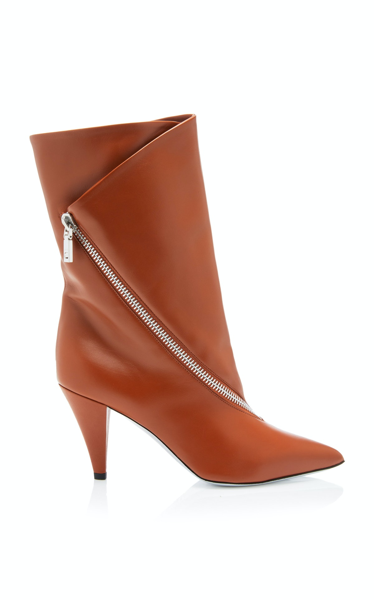 Show Zip Leather Boot