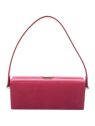 Crepe Shoulder Bag