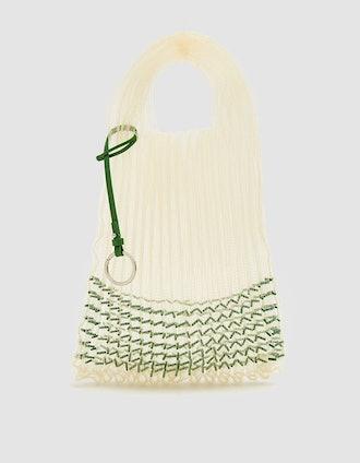 Jil Sander Small Beads Market Bag
