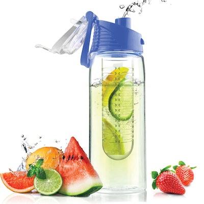 Asobu 20-ounce Pure Flavor 2 Go Water Bottle