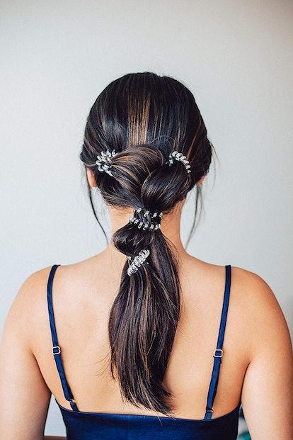 Kitsch Spiral Hair Ties (4 Pack)