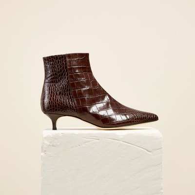Brown Croc Kit Boot
