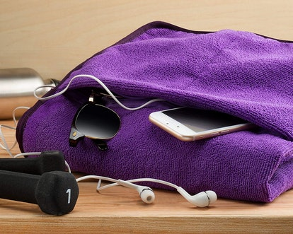 The Easy Gym Towel With Zippered Pocket (2 Count)