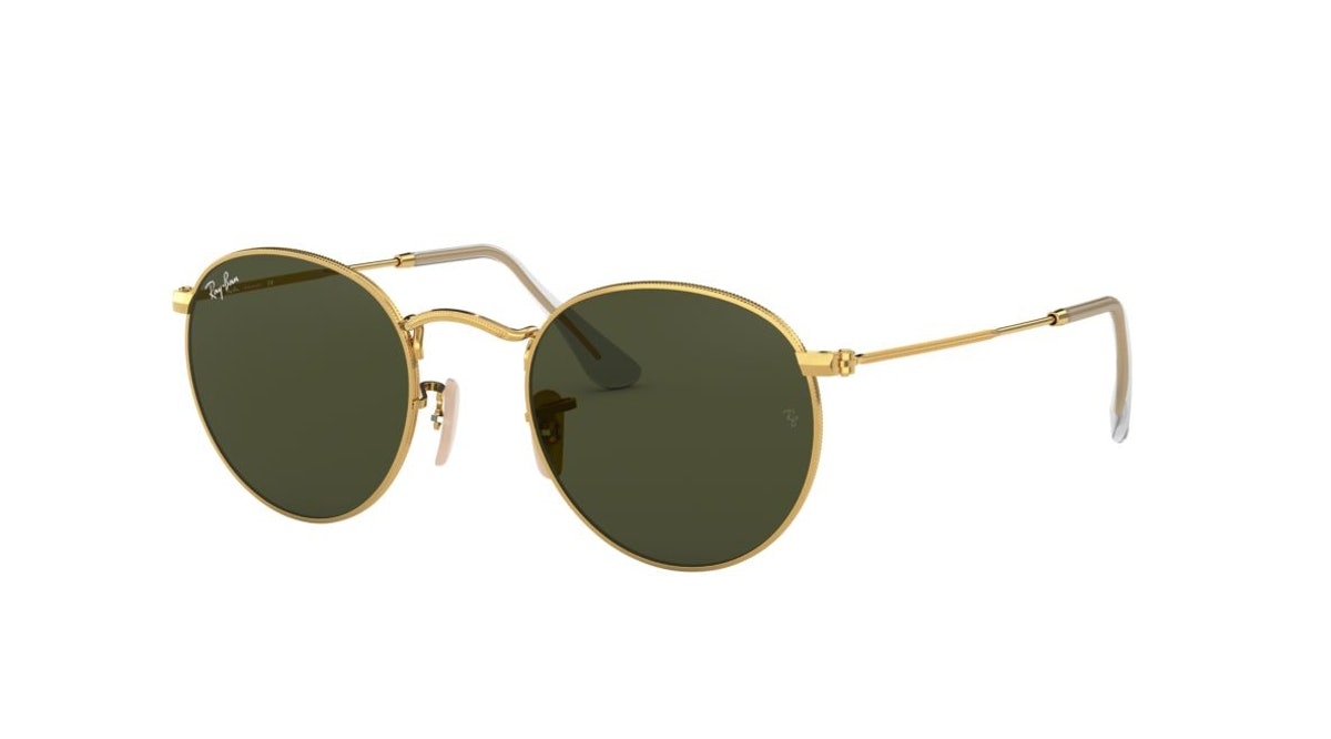 RAY-BAN RB3447 Gold/Green