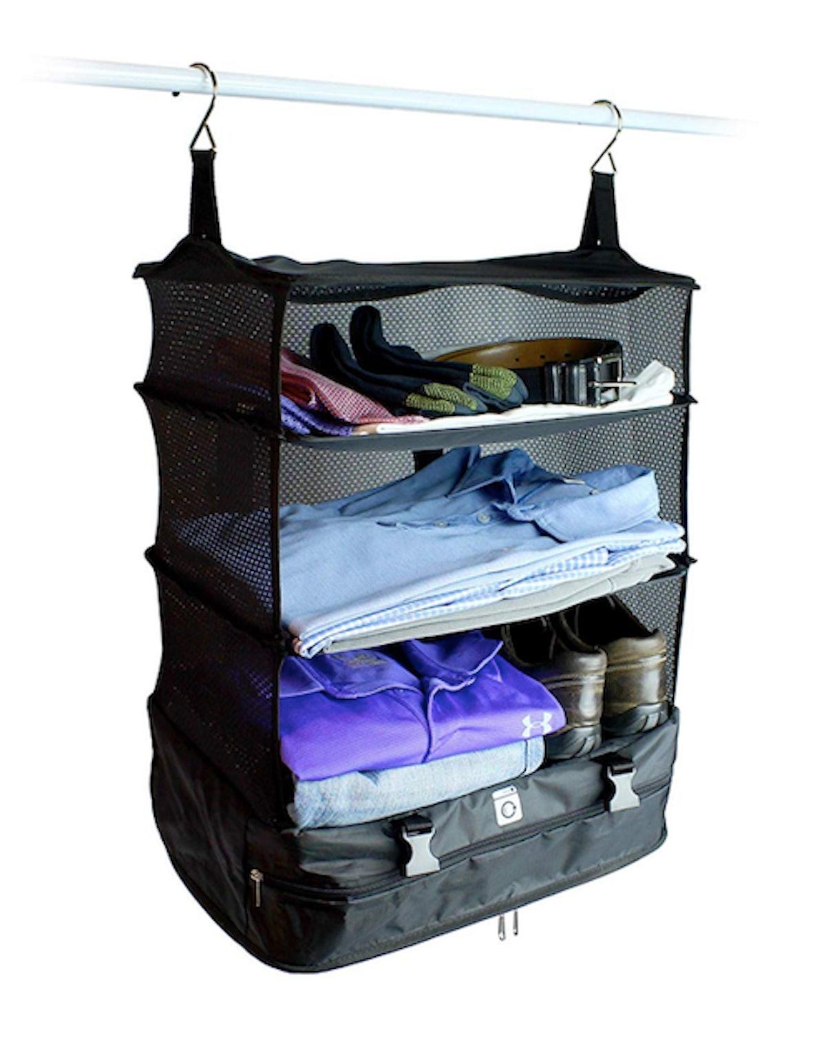 Stow-N-Go Portable Suitcase Organizer