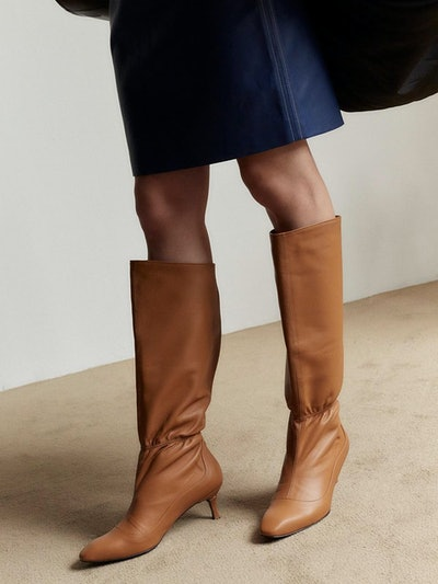 Allure Tall Camel Boots