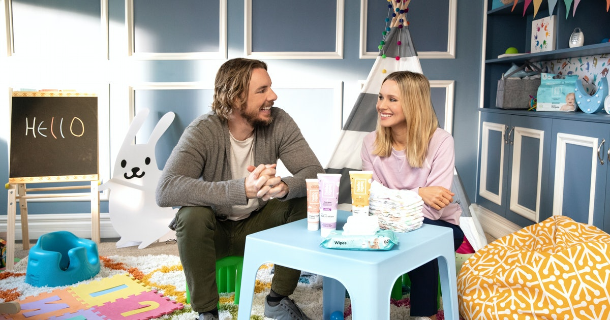 Kristen Bell & Dax Shepard Have A New Line Of Plant-Based Baby Care Products At Walmart & It's Everything You Want