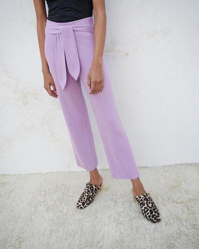 Tiger Knit Pants
