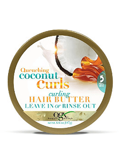 Quenching Coconut Curls Curling Butter Leave In or Rinse Out