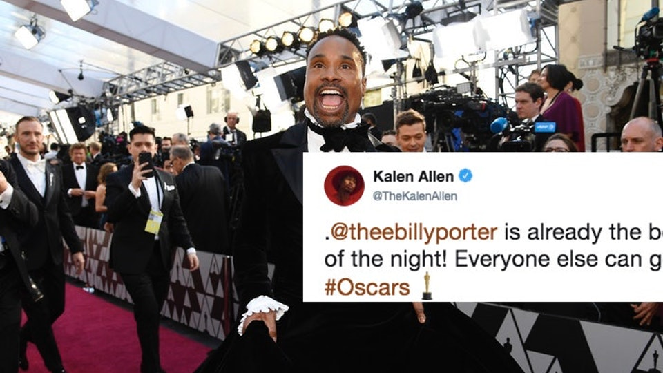 58e74bf105ba Billy Porter Wore A Tuxedo Gown To The Oscars   The Internet Is In Love