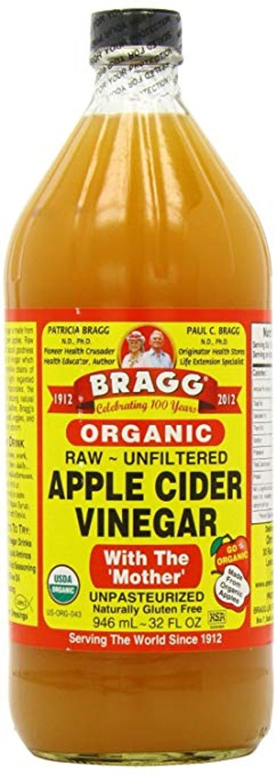 Organic Apple Cider Vinegar With The Mother - 16 oz
