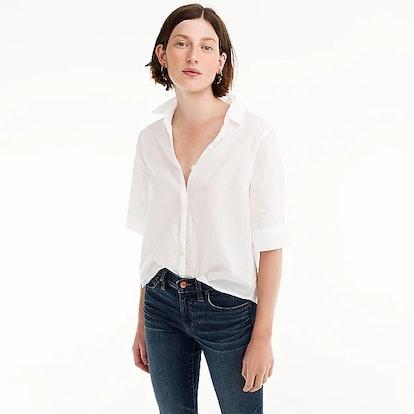 Short-Sleeve Button-Up Shirt