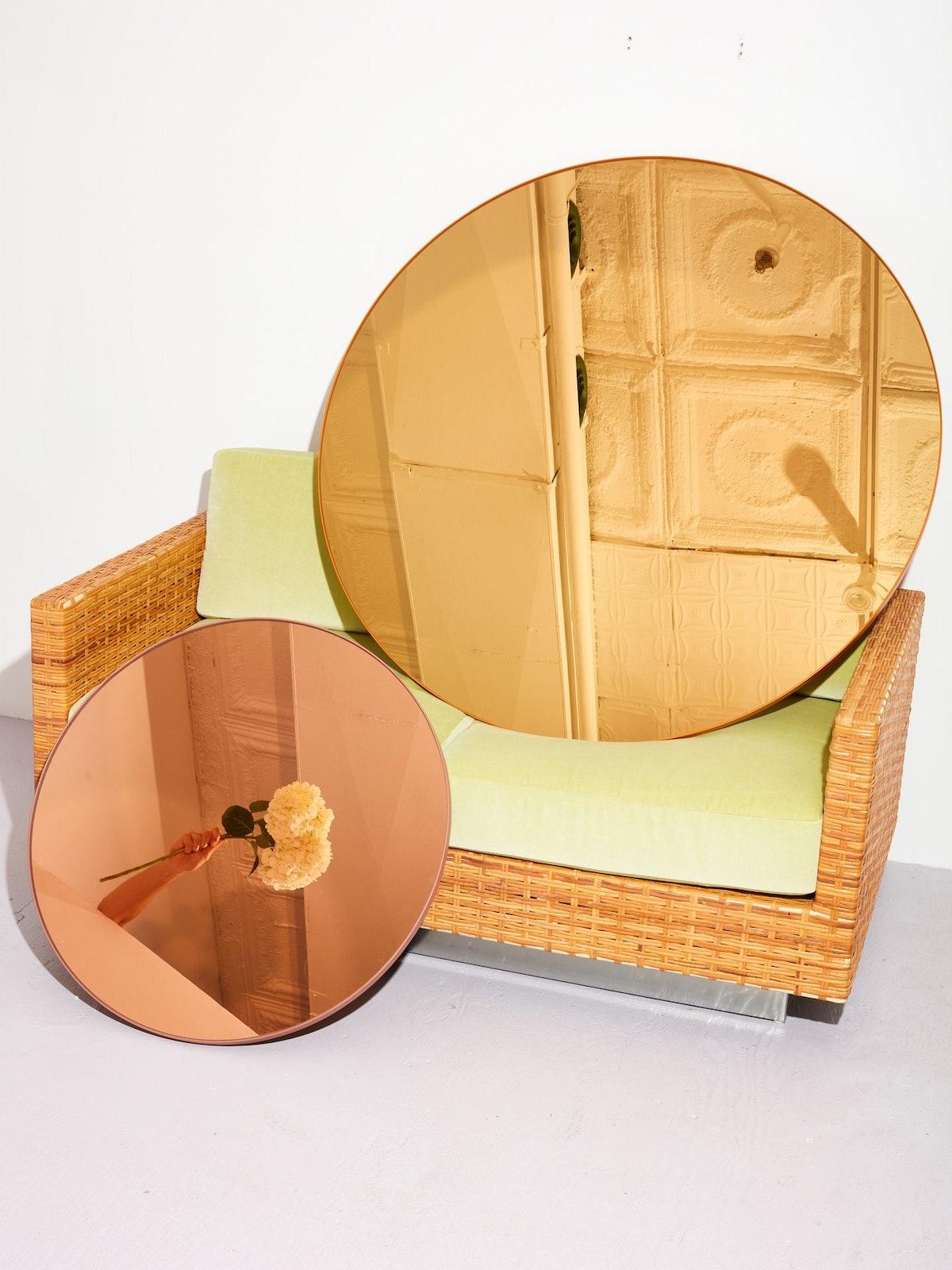 AYTM Circum Mirror, Large, Amber