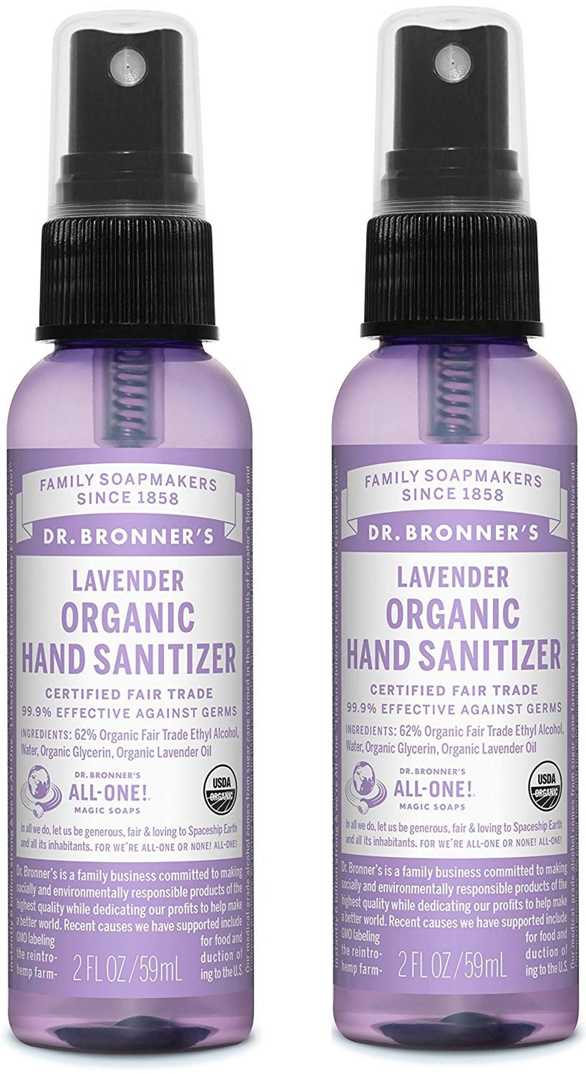 Dr. Bronner's Organic Hand Sanitizer