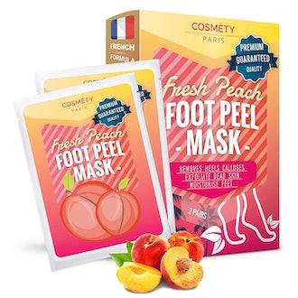 Cosméty Fresh Peach Foot Peel Mask