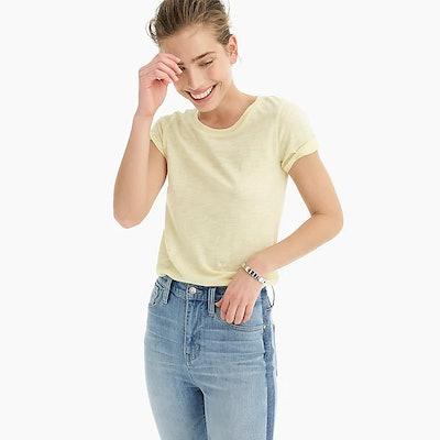 Vintage Cotton Crewneck T-Shirt