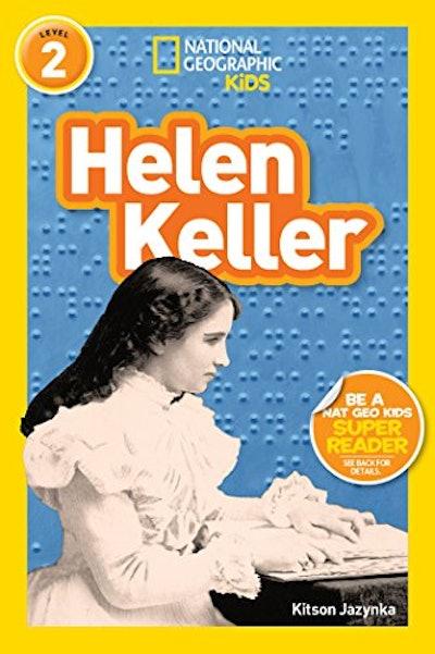Helen Keller, by Kitson Jazynka