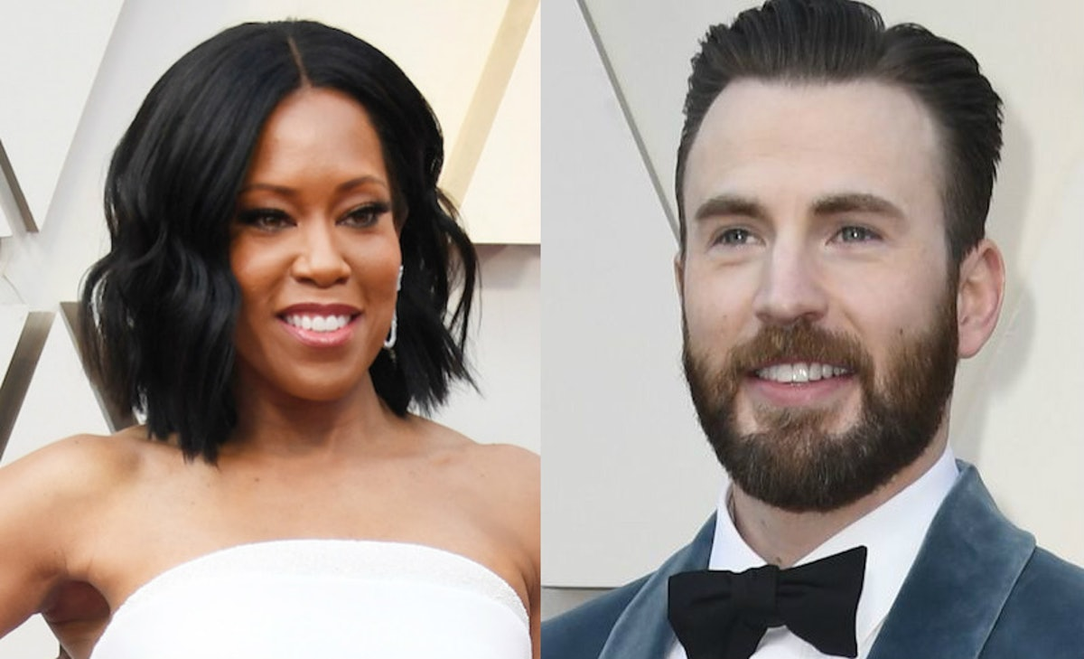 Chris Evans Helping Regina King Onstage At The Oscars Will Make You Melt Into A Puddle Of Goo