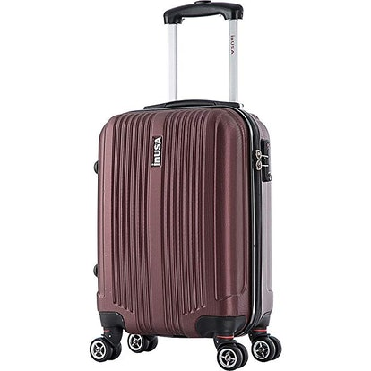 "inUSA San Francisco 18"" Carry-on Lightweight Hardside Spinner Suitcase"