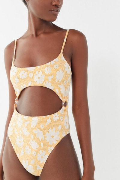 Alyssa O-Ring Cutout One-Piece Swimsuit