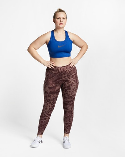 One Luxe Printed Tights (Plus Size)